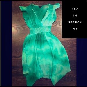 ISO: Green H&M Dress